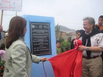"""Se  Inauguraron  Obras  Del  Programa  """"Agua Para Todos""""  En  Chancay"""