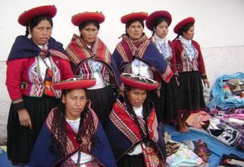 Ñustas de Chincheros visitan  Huaral.