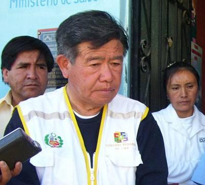 Presidente Regional de Lima provincias, Nelson Chui Mejía