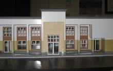 Maqueta del nuevo Museo de Chancay