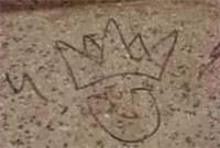 grafitis en la  Gloriata de la Plaza de Armas de Chancay