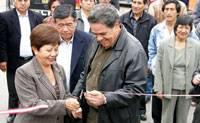 Los padrinos, Nelly Tang Sánchez y el ingeniero Luis  Garibaldi Anavitarte