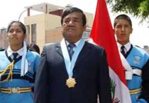 Alcalde de Huaura  Pedro Zurita Paz.