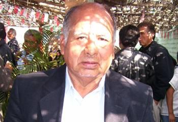 Alcalde de Ihuarí Sr. Juan Carrasco