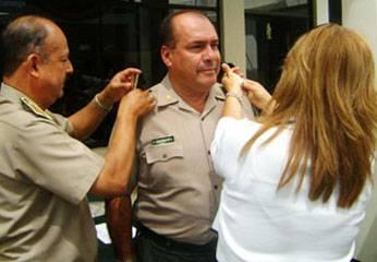 Oficial Juan Albarracín asciende a Coronel de la PNP