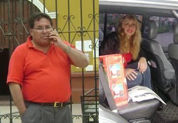 Alcalde de Breña, José Gordillo Abad y su esposa Roció Díaz