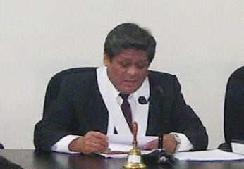 Juez Jhony Virú Maturrano
