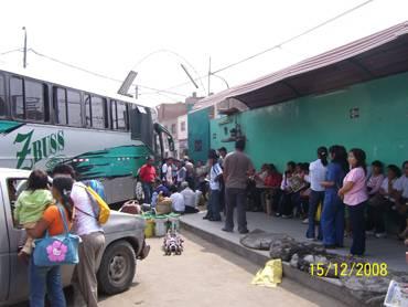 Pasajero a Lima tambien se quedaron varados