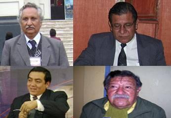 Alejandro Maguiño, Dante Pacheco, Martín Llanos y Aníbal Moralez.
