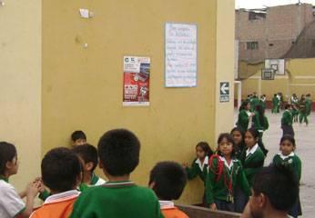Foto archivo. estudiantes huaralinos.