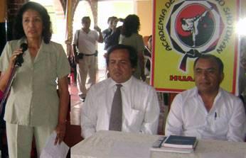 Presidenta del Comité Anticorrupción, Danila Ramirez de Lenci