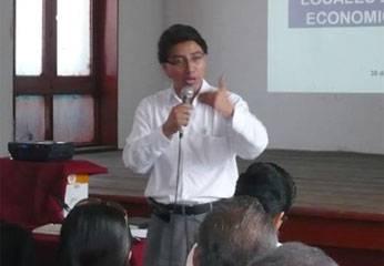 """Vicente Sánchez, secretario general regional del Movimiento """"Confianza Perú"""""""