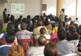 Apertura del presupuesto participativo 2010.