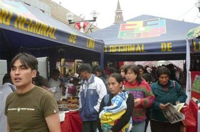 Feria en Huaral.
