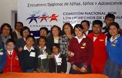 •Doce escolares de 8 a 17 años se encontrarán con otros de todo el Perú
