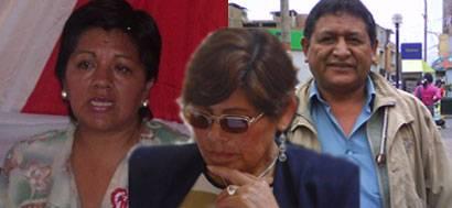 Regidora, Gavi Pardo, Segunda Torres y Huaman Jerí
