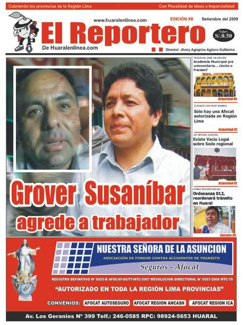 El Reportero, Edicion 12