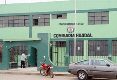 Comisaría de Huaral.