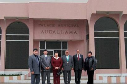 Municipalidad distrital de Aucallama.