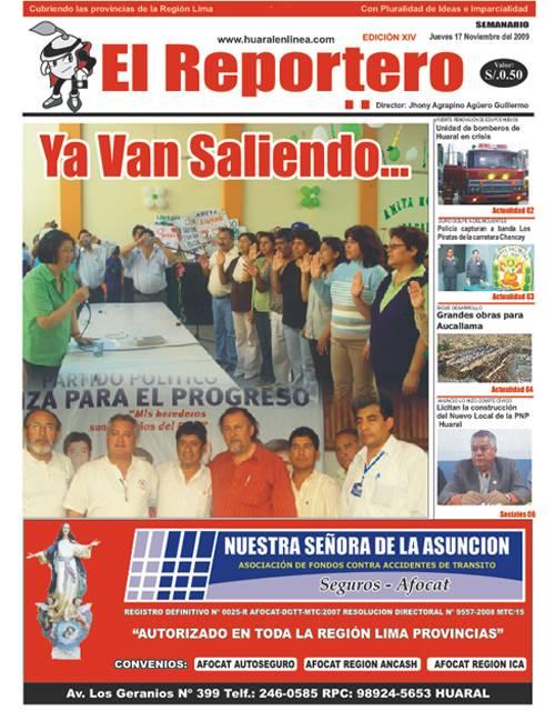 El Reportero, Edicion 14
