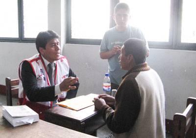 Representante de Defensoria de Oficio Huaral