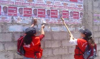 Multarán con S/. 1,800 colocaciones de propaganda electoral en zonas rígidas de Chorrillos