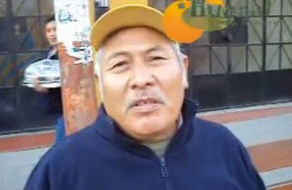 Huaralinos rechazan ingreso de mototaxis a la plaza de Armas.