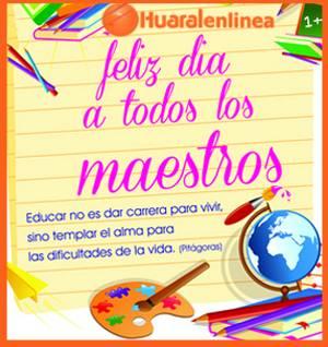 """Feliz """"Día del Maestro"""""""