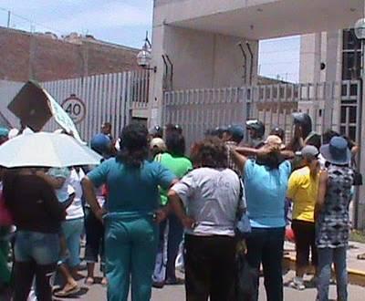 Pobladores y comuneros exigieron cárcel para actual consejera regional de Cañete.