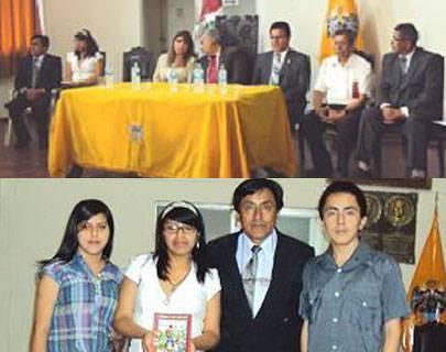 """Huaralino Pedro Castañeda presentó su libro """"Cuentos de un Caminante""""."""