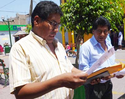 Alcalde reelecto de Ihuarí aclara sobre acusación de votos golondrinos
