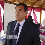 El Consejero Regional de Huaral Oswaldo Merino