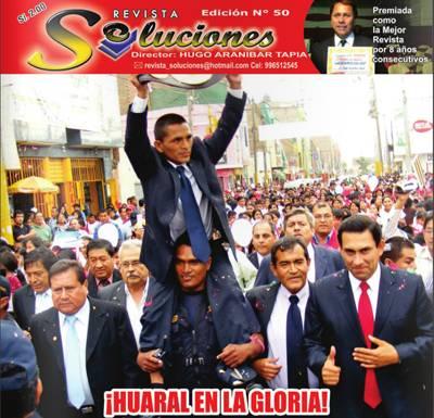 Revista Soluciones de Huaral edición Nº 50 mes de abril 2012.