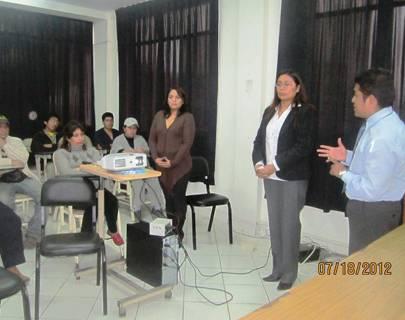 Realizan taller sobre residuos sólidos en Hospital de Huaral.