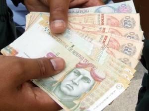 Alertan sobre circulación de billetes falsos en Huacho