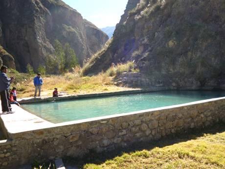 Baños de Collpa, de Santa Catalina (Huaral), considerados entre los mejores del Perú