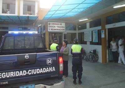 Station Vagon embistió mototaxi y dejó malherido a su conductor.