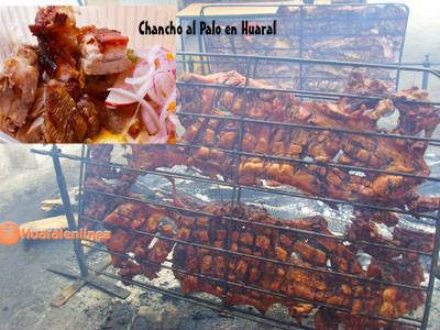 Tercer domingo de Octubre como Día del Chancho al Palo de Huaral