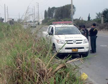 5 delincuentes asaltan en carretera y roban a vendedor en irrigación Santa Rosa