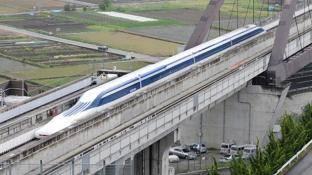 Japón presentó su tren de levitación magnética el más rápido de la historia, supera los 500 km/h. [VIDEO]