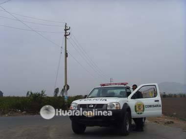 Policía de Huaral recupera automóvil robado en el sector de Palpa (Aucallama)