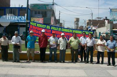 Agricultores del Valle Chancay Huaral Aucallama