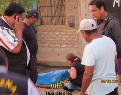 Asesinan de cinco balazos a taxista en Huaral