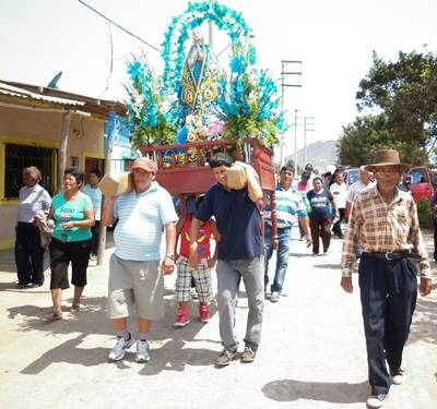 "festividad de ""Virgen De Lourdes"""