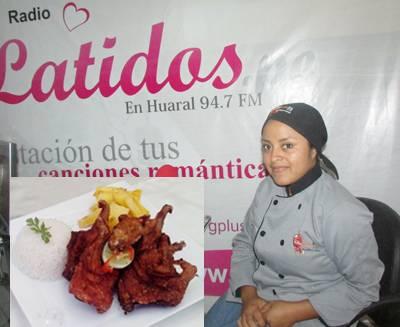 """Chef del restaurant """"El Huaquerito"""" de Huaral es egresada de escuela de Gastón Acurio"""