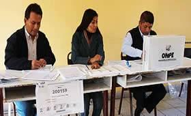 El 6 de octubre será día no laborable para miembros de mesa en Huaral.