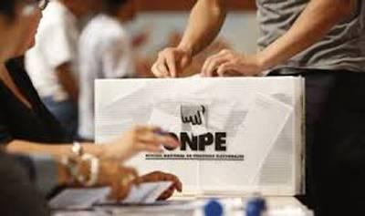 "ONPE: financiamiento a partidos no será ""cheque en blanco"""