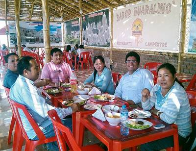 "Wilmer Godiño invita a visitar su restaurant campestre ""Sabor Huaralino"""