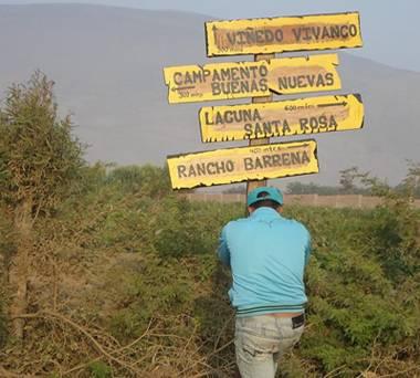 Colocan  paneles turísticos informativos para facilitar el acceso a los turistas.