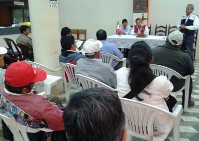 Aucallama reinstala comité distrital de Seguridad Ciudadana